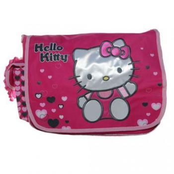 Hello Kitty  Bag - Hearts Pink Messenger