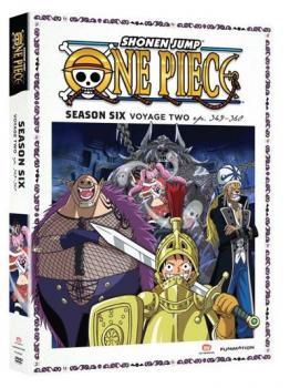 One Piece Season 06 Part 02 Thin-Pak DVD Box Set
