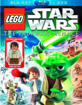 LEGO STAR WARS PADAWAN MENACE BD + DVD