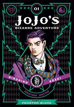 JoJo's Bizarre Adventure Part 1 Phantom Blood vol 01 GN