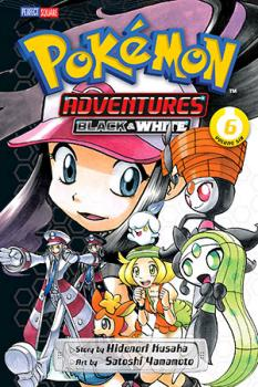 Pokemon Adventures Black and White vol 06 GN