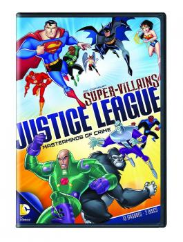 DC SUPERVILLIANS JUSTICE LEAGUE MASTERMINDS DVD