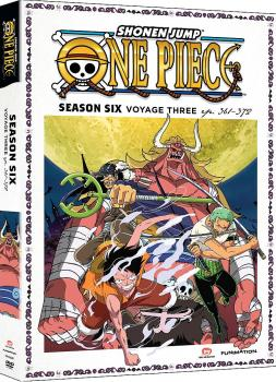 One Piece Season 06 Part 03 Thin-Pak DVD Box Set