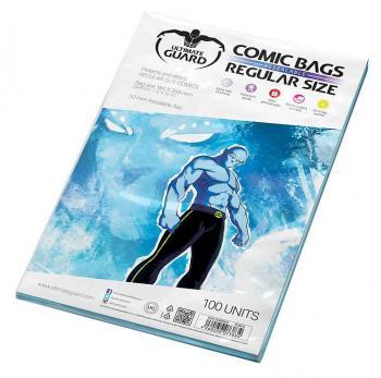ULTIMATE GUARD COMIC BAGS RESEALABLE REGULAR SIZE (100)