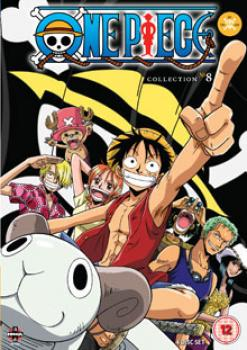 One Piece (Uncut) Collection 08 (Episodes 183-205) DVD UK
