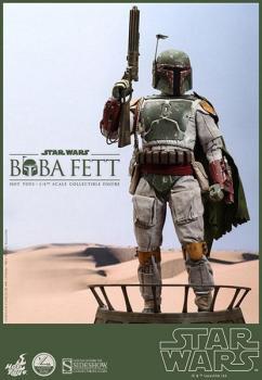 STAR WARS QS SERIES ACTIONFIGUR 1/4 BOBA FETT 44 CM