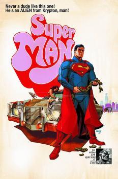 SUPERMAN #40 MOVIE POSTER VAR ED