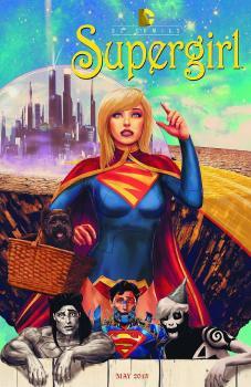 SUPERGIRL #40 MOVIE POSTER VAR ED