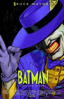 BATMAN #40 MOVIE POSTER VAR ED (ENDGAME) (NOTE PRICE)