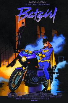BATGIRL #40 MOVIE POSTER VAR ED