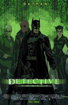 DETECTIVE COMICS #40 MOVIE POSTER VAR ED
