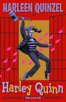 HARLEY QUINN #16 MOVIE POSTER VAR ED