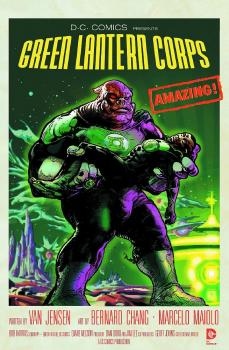 GREEN LANTERN CORPS #40 MOVIE POSTER VAR ED (NOTE PRICE)