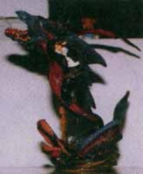 Final Fantasy VIII Resin statue Squall Leonheart and dragon