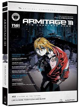 Armitage III Movie Collection Classic DVD Box Set