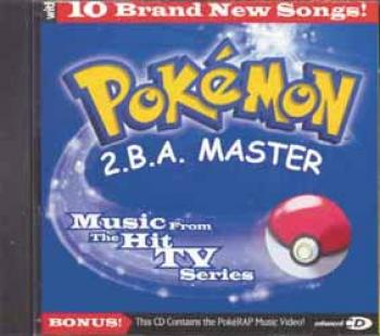 Pokemon 2BA Master songs from the TV show CD