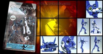Neon genesis evangelion EVA unit 00 Blue figure