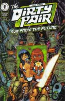 Dirty Pair Run from the future 2 (Warren Cover)