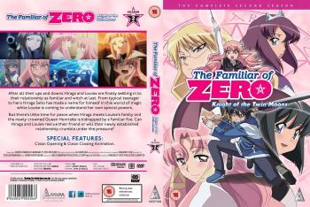 Familiar of Zero Season 02 Complete Collection DVD UK
