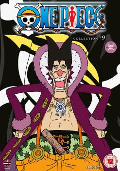 One Piece (Uncut) Collection 09 (Episodes 206-229) DVD UK