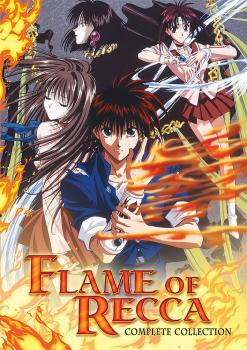 Flame of Recca Complete Collection DVD Box Set