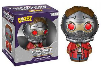 GUARDIANS OF THE GALAXY DORBZ VINYL FIGURE - STAR LORD WITH MASK