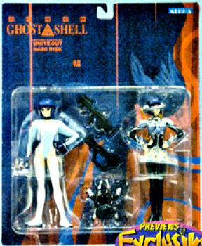 Ghost in the shell Action figure Repaint 2 pack