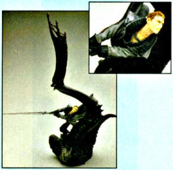 Final Fantasy VIII Resin statue Seifer Almasy and Odin