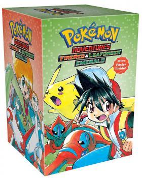 Pokemon Adventures manga Box set vol 04 GN