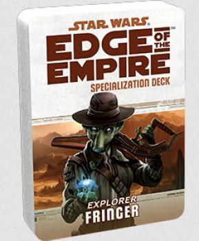 Star Wars Edge of the Empire RPG - Specialization Deck Fringer