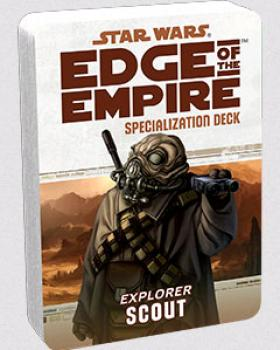 Star Wars Edge of the Empire RPG - Specialization Deck Scout