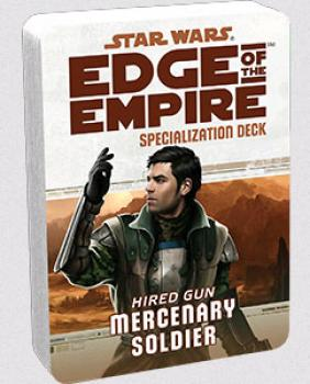 Star Wars Edge of the Empire RPG - Specialization Deck Mercenary
