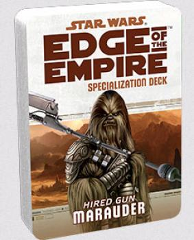 Star Wars Edge of the Empire RPG - Specialization Deck Marauder