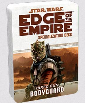 Star Wars Edge of the Empire RPG - Specialization Deck Bodyguard