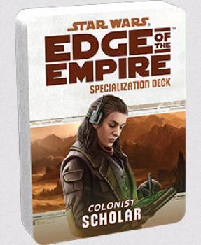 Star Wars Edge of the Empire RPG - Specialization Deck Scholar