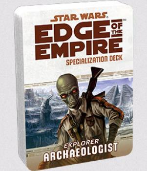 Star Wars Edge of the Empire RPG - Specialization Deck Archaeologist