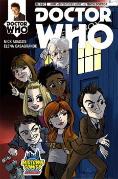 DOCTOR WHO 10TH DOCTOR #1 COVER C MIDTOWN EXCLUSIVE AMY MEBBERSON VAR CVR