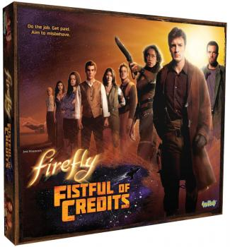 Firefly Board Game - Fistful of Credits English