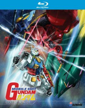 Gundam Mobile Suit Gundam Part 01 Collection Blu-Ray