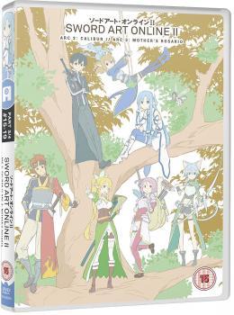 Sword art online 2 Part 03 DVD UK