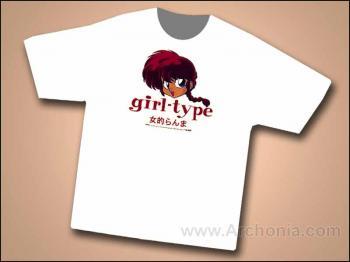Ranma 1/2 Girl-Type T-shirt X-Large