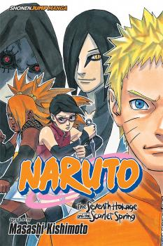 Naruto The Seventh Hokage and the Scarlet Spring GN