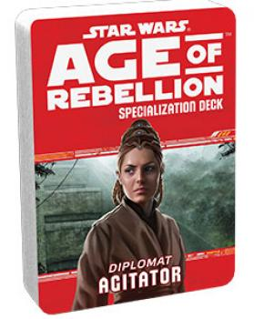 Star Wars Age of Rebellion RPG Specialization Deck - Agitator