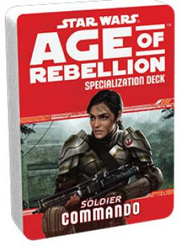 Star Wars Age of Rebellion RPG Specialization Deck - Commando