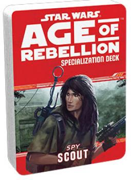Star Wars Age of Rebellion RPG Specialization Deck - Scout