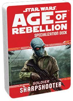 Star Wars Age of Rebellion RPG Specialization Deck - Sharpshooter