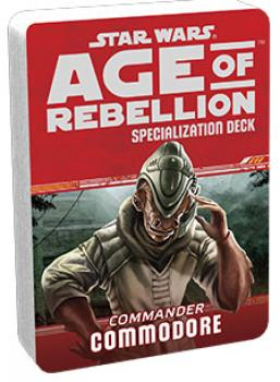 Star Wars Age of Rebellion RPG Specialization Deck - Commodore