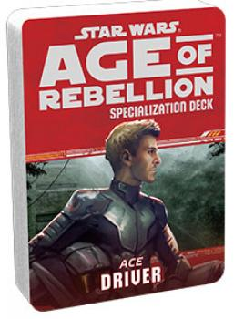 Star Wars Age of Rebellion RPG Specialization Deck - Driver