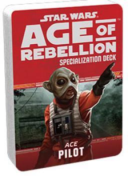 Star Wars Age of Rebellion RPG Specialization Deck - Pilot