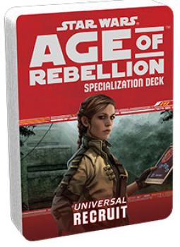 Star Wars Age of Rebellion RPG Specialization Deck - Recruit